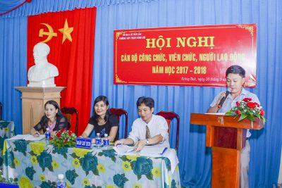 Hội nghị CB-CC-VC năm học 2017-2018