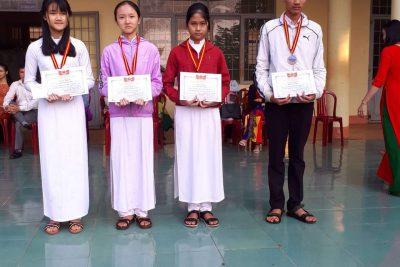 Trao thưởng trong thành tích Olympic